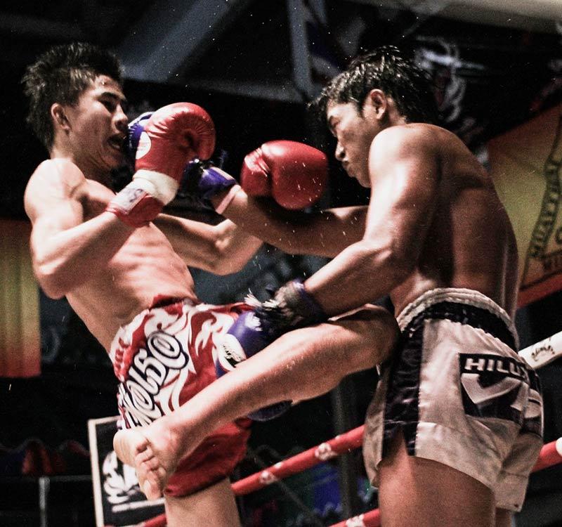 Muay thai class